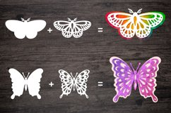 butterfly svg bundle template for cutting