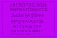 CHUNKY GRUMPY cartoon display font Product Image 3