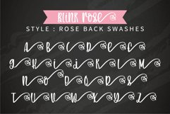 Blink Rose- A handwritten rose swashes font Product Image 5