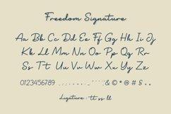 Freedom Signature Product Image 6