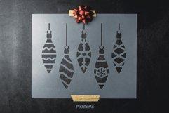 200 Christmas Stencils SVG Cut Files Bundle Product Image 5