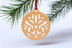 Christmas Ornaments Vol.1 - 120 Laser Cut Files Bundle Product Image 5