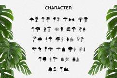 TreesDingbat Font Product Image 4