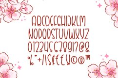 Blossom - Cute Display Font Product Image 4