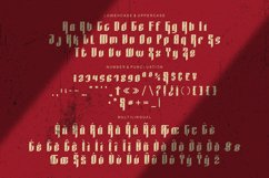 Lineblank Font Product Image 4