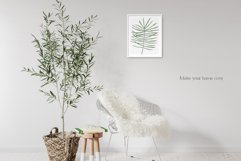 """Watercolor ClipArt """"Tropical Leaves"""" Product Image 4"""