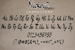Mickout Project Cute and Quirky Font Product Image 5