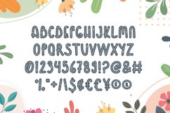 Flower - Quirky Display Font Product Image 3