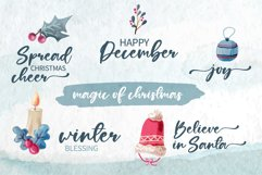 Chrsitmas Jolly Love - A sweet modern calligraphy Product Image 5