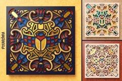 Egyptian Mandala 3D Layered SVG Cut File Product Image 5