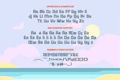 Summer Holiday Font Product Image 3