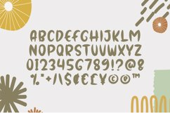Gorgeous - Quirky Display Font Product Image 4