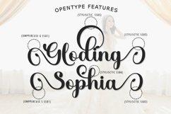 Gloding Sophia Script Product Image 5