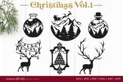 Vol.1 Christmas Bundle SVG Bundle Cut Files Product Image 6