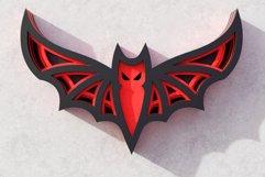 Halloween Bat 3D Layered SVG Cut File Product Image 5