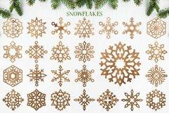 Laser Cut Files Vol.1 - 50 Snowflake Ornaments Product Image 5