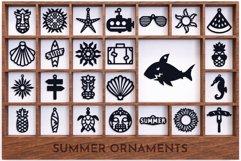 Laser Cut Files Vol.4 - 50 Summer Ornaments Bundle Product Image 5
