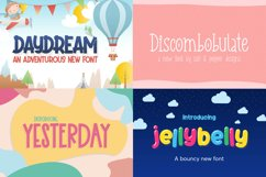 The Cute Craft Font Bundle Product Image 6