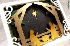 Nativity Scene 3D Layered SVG Cut File Product Image 5