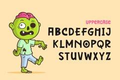 Mini Zombie Font Product Image 5