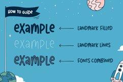Landmark Font Trio Product Image 5