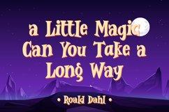 Wonder Magic - a Magic Fantasy Font Product Image 5
