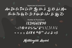 Silintho - Bold Script font Product Image 5
