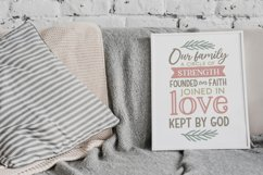 Family Quotes Farmhouse Family Sign svg bundle dxf png eps Product Image 5