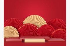 Chinese New Year Mockup Scene Product Image 6