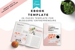 Lady Boss Ebook/Lead Magnet Canva Template eBook. Product Image 1