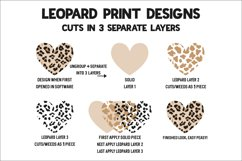 Leopard Baseball Heart - Baseball Cheerin' Sister SVG Product Image 3