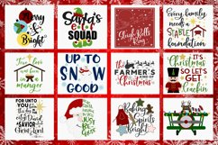 2019 Holly Jolly Christmas Bundle SVG DXF PNG EPS Comm Product Image 2