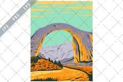 Rainbow Bridge National Monument WPA Poster Art Product Image 1