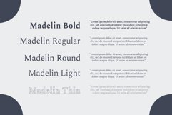 Madelin Serif Font Family Pack Product Image 3