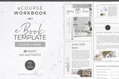 Workbook Template for Canva   eBook   Lead Magnet   Linen Product Image 1