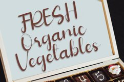 Vegetables - Script Calligraphy Font Product Image 4