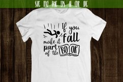 If you fall make it part of the book Vector typography Product Image 2
