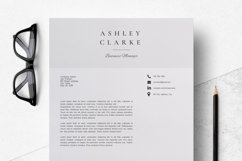 Resume Template   CV Cover Letter - Ashley Clarke Product Image 6