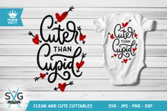 Cuter Than Cupid SVG cutting file Product Image 1