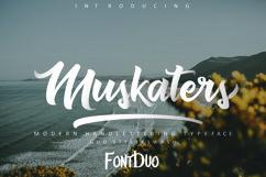 Muskaters. duo style + font bonus Product Image 1