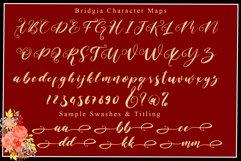 Bridgia Valentine - WEB FONT Product Image 5