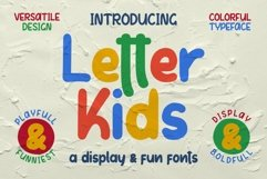 LETTER KIDS Display Fonts Product Image 1