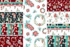 9 seamless pattern Xmas decor, repeat pattern, JPG, holidays Product Image 2