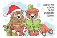 CHRISTMAS SONG New Year Santa Music Clip Art Pattern Vector Product Image 3