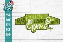 Followed My Heart To The Camper SVG Product Image 2