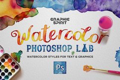 Watercolor PHOTOSHOP Lab Product Image 1