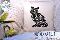 Mandala Cat SVG Set For Cricut & Silhouette Product Image 3