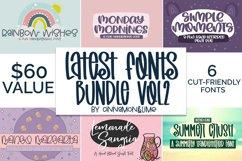 Handlettered Font Bundle Vol 2 Product Image 1