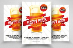 Happy Hour Flyer Template 03 Product Image 1