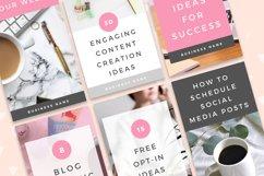 Pinterest Canva Templates - Lady Boss Product Image 2